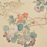 [Detail] Twelve Flower Painting Leaves from an Album, China (Estimate $5,000-$7,000)