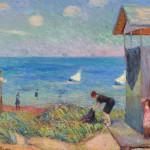 William Glackens (American, 1870-1938)  A Cape Cod Shore, 1908 (Lot 298, Estimate $250,000-$350,000)