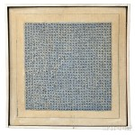 Agnes Martin (Canadian/American, 1912-2004) Blue Flower, 1962 (Lot 397, Estimate $1,500,000-$2,000,000)