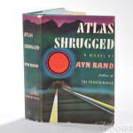 Rand, Ayn (1905-1982)  Atlas Shrugged, First Edition. New York: Random House, [1957] (Estimate $400-$600)