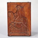 George Washington Carved Cakeboard, America, 19th century (Lot 1047, Estimate $800-$1,200)