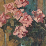 Jane Peterson (American, 1876-1965)  Still Life with Roses (Lot 1048, Estimate $3,000-$5,000)