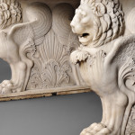 Victorian Carrara Marble Lion Garden Table, late 19th century (Lot 163, Estimate $8,000-$12,000)