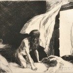 Edward Hopper (American, 1882-1967) Evening Wind, 1921 (Levin, 77) (Lot 32, Estimate $15,000-$20,000)