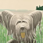 Alex Katz (American, b. 1927) Dog at Duck Trap, 1975, edition of 90 plus proofs (Lot 73, Estimate $4,000-$6,000)