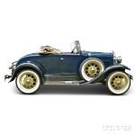 1930 Model A Deluxe Roadster (Lot 1, Estimate $14,000-$18,000)