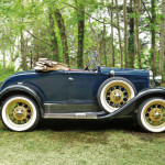 1930 Model A Deluxe Roadster (Lot 1, Estimate $14,000-$18,000)