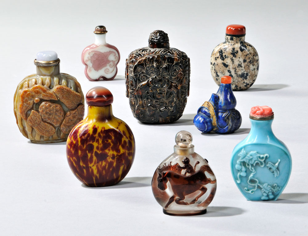 Selection of Snuff Bottles on offer