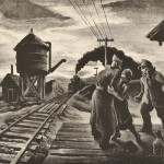 Thomas Hart Benton (American, 1889-1975) Morning Train, alternatively titled Soldier