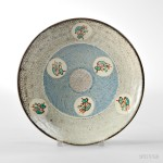 Tatsuzo Shimaoka (1919-2007) Dish, Japan, 20th century (Lot 415, Estimate $3,000-$5,000)