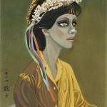 Chun Kyungja (b. 1924), A Black Woman in Atlanta, Korea, 1987 (Lot 466, Estimate $650,000-$700,000)