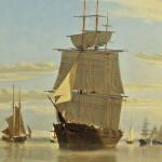 William Bradford (Massachusetts/California, 1823-1892)  Boston Harbor (Lot 23, Estimate $150,000-$250,000)