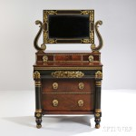 Cherry Desk/Bookcase, Connecticut, last half 18th century (Lot 41, Estimate $3,000-$5,000)