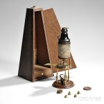 Culpeper-type Compound Monocular Microscope, early to mid-18th century (Lot 370, Estimate $5,000-$7,000)