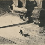 Edward Hopper (American, 1882-1967)  Night Shadow, 1921, from Six American Etchings: The New Republic Portfolio published in 1924, edition of approximately 500 (Lot 18, Estimate $12,000-$18,000)