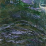 Claude Monet (French, 1840-1926)  Study of Water/An Oil Study Fragment (Lot 326, Estimate $60,000-$80,000)