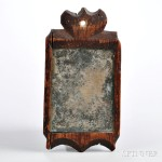 Small Carved Mirror, America, c. 1790 (Lot 25)