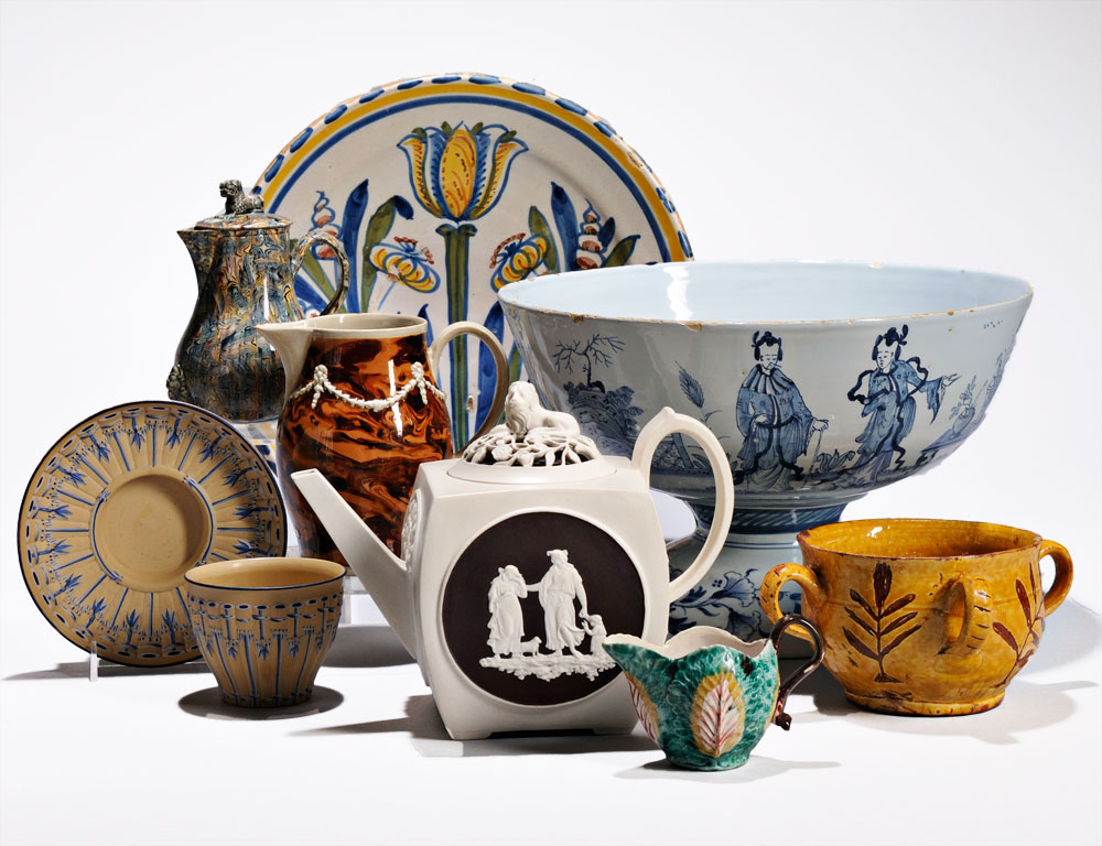 Selection of Lots from The Chappell Collection of Early English Pottery