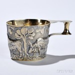 Edward VII Sterling Silver-gilt Reproduction 'Vapheio Cup,' Chester, 1906-07 (Lot 29, Estimate $200-$300)