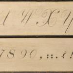 Shaker Painted Alphabet Board, Harvard, Massachusetts (Estimate $15,000-$20,000)