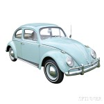 1963 Volkswagen Beetle with Sunroof (Lot 2, Estimate $12,000-$15,000)