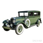 1928 Packard Limousine Four-door Sedan (Lot 10, Estimate $20,000-$25,000)