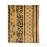 Ming Carpet Fragment, Western China, early 17th century (Lot 96, Estimate: $6,000-8,000)