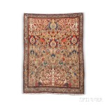 Antique Sarouk Prayer Rug, Iran, c. 1880 (Lot 175, Estimate: $2,000-2,500)