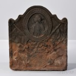 Cast Iron General Wolfe Fireback, 18th century (Lot 34, Estimate $2,000-3,000)