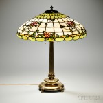 Leaded Glass Table Lamp (Estimate: $600-800)