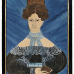 Ruth W. Shute (1803-1882) and Dr. Samuel A. Shute (1803-1836)   Portrait of Electa Snow Pierce  (Lot 519, Sold for: $339,000)