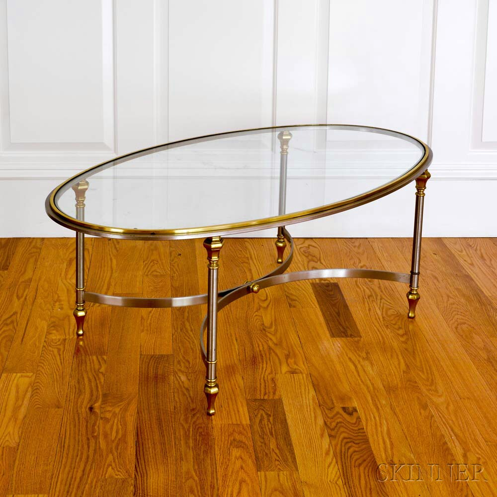 Antique Silver Glass Coffee Table: Heidi Pribell Interiors For The Home Online