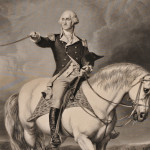 [Detail] Washington, George (1732-1799) Washington Receiving a Salute on the Field of Trenton. New York: Published by John McClure at Goupils, [c. 1863] (Lot 5, Estimate: $500-700)