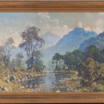 Hezekiah Anthony Dyer (American, 1872-1943) Mountain Lake. Signed 'H.A. Dyer.' (Estimate: $500-700)