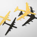 Sheet Aluminum Bomber Silhouette Models, America, mid-20th century (Lot 1075, Estimate $150-250)
