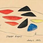 Alexander Calder (American, 1898-1976)  Aula Magna  (Lot 438, Estimate $25,000-35,000)