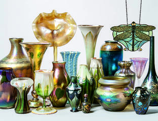 The Nan Edwards Art Glass Collection